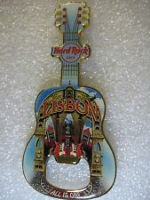 LISBON,Hard Rock Cafe,BOTTLE OPENER MAGNET V-11