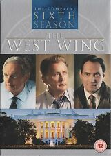 THE WEST WING - Series 6. Martin Sheen, Alan Alda, Dule Hill (6xDVD BOX SET 07)