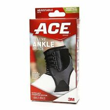 Deluxe Ankle Brace Adjustable Wrap Support Universal Stabilizer Tek Zone Ac