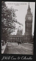 Old Postcard Of Houses Of Parliament And Big Ben, London