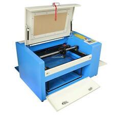 CO2 Laser Graviermaschine  Engraver Cutter Hilfsdrehteil Gravur Schneidemaschine