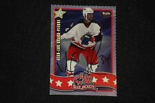 JEAN-LUC GRAND-PIERRE 2001-02 DONATOS SIGNED AUTOGRAPHED CARD #16 BLUE JACKETS