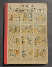 La jeunesse illustrée Album éditeur du 2 juin 1929 au 25 mai 1930. N°1339 à 1390
