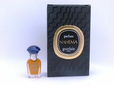 miniature perfume bottle Guerlain Nahema parfum edt 1 ml. vintage