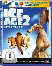 ICE AGE 2, Jetzt taut's (Blu-ray Disc + RIO Activity-DVD) NEU+OVP