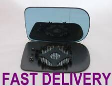 BMW 7 SERIES E38 1994-01  MIRROR GLASS BLUE HEATED WIDE ANGLE ESPEJO CLIP ON