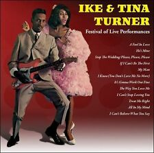 New: IKE & TINA TURNER -  Festival of Live Performances CD