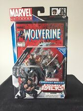 Marvel Universe Comic Packs Wolverine And Silver Samurai
