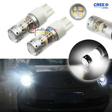 2x HID White 140W 28-CREE LED Bulbs for VW B7 Passat Beetle Daytime DRL Lights