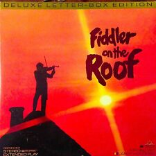 Fiddler On The Roof - Letterboxed  Laserdisc Buy 6 for free shipping
