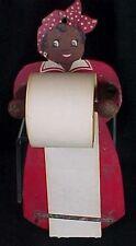 Vintage Aunt Jemima Style Wood Paper Dispenser Pencil Holder Note