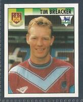 MERLIN 1995-PREMIER LEAGUE 95- #486-WEST HAM UNITED-LUTON TOWN-TIM BREACKER