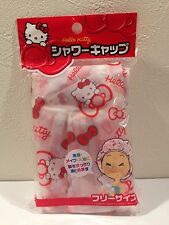 SANRIO Hello Kitty Shower Cap For Sale In Japan Only Hair Bath goods Kawaii