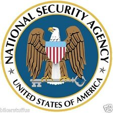 NSA NATIONAL SECURITY AGENCY BUMPER STICKER