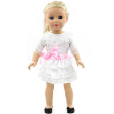 "Fits 18"" American Girl Madame Alexander Handmade Doll Clothes dress MG053"
