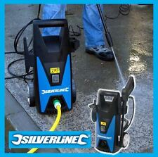 NEW SILVERLINE 105 BAR 1650W JET WASHER / PRESSURE WASHER CAR PATIO CLEANER
