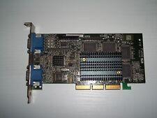 Matrox G400 AGP 4X 32MB Dual-Head VGA G4+MDH4A32G AGP PERFETTA OK! DOPPIO VGA