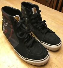 RARE Collectible Vans Kiss Army Sk8 Hi Shoes (Size Men 9.5 Women 11)