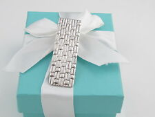TIFFANY & CO WEAVE MONEY CLIP HOLDER BOX INCLUDED