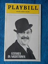 Ulysses In Nighttown - Winter Garden Playbill - Opening Nite - March 10th, 1974
