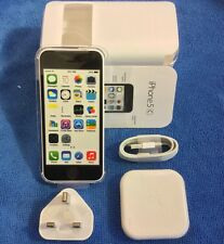 APPLE IPHONE 5C 16GB 4G, WHITE UNLOCKED, BRAND NEW, UNUSED+UK Seller