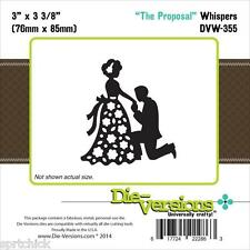 Die-Versions The Proposal Whispers Die DVW-355**Free Ship!**