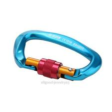 25KN Professional Safety Master Lock D Buckle Climbing Carabiner Equipment