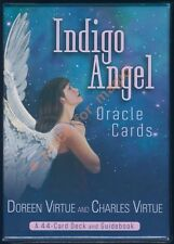 NEW Doreen Virtue Indigo Angel Oracle Cards Deck Charles Virtue