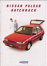 1987 NISSAN N13 PULSAR HATCHBACK Australian 16 Page Brochure