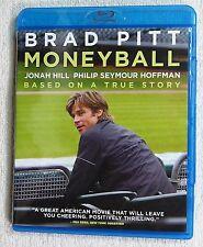 Moneyball (Blu-ray Disc, 2012) 2011, Miller Pitt Hill Hoffman, True Story  LZ