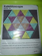 #10 Blocks the Kaleidoscope Quilt by Jo Ann Fabric & Crafts     all #10 BLOCKS