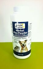 2 bottles of Herbal flea and tick powder for cats & dogs, natural