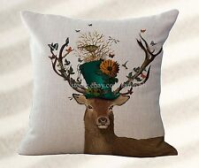 inexpensive decorative pillows moose bird nest cushion cover cool pillow cases