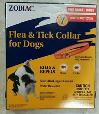 "ZODIAC FLEA &TICK COLLAR FOR SMALL DOGS WITH NECK UP TO 15""*7 MONTHS PROTECTION*"