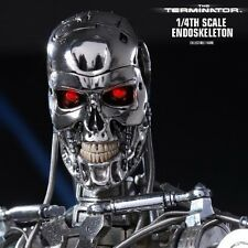 TERMINATOR T800 T-800 QS002 ENDOSKELETON HOTTOYS 1/4 ACTION FIGURE ES AQ3907
