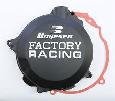 BOYESEN FACTORY RACING CLUTCH COVER (BLACK) CC-41B Fits: Husaberg TE125 Husqvarn