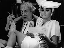 Photo originale Raquel Welch John Huston Myra Breckinridge