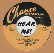 R&B REPRO: JAMES WILLIAMSON - The Woman I Love/Homesick CHANCE