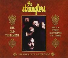 THE STRANGLERS - THE OLD TESTAMENT-THE U.A.STUDIO RECORDINGS 5 CD NEU