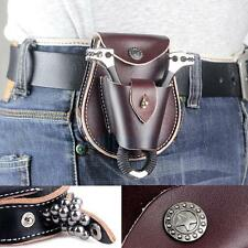 2 in 1 Genuine Leather Slingshot Pouch With Ball Magnet Ammo Pouch Bag Case