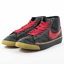 NIKE X ZOO YORK BLAZER MID BLACK VARSITY RED ANTHRACITE GOLD 306800 061 SZ 13