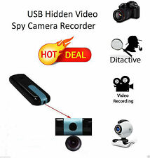 USB Mini Hidden Video Spy Camera Recorder Security CCTV DVR Flash Camcorder U8