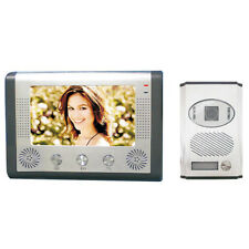 "INTERPHONE PORTIER  VIDEO VIDEOPHONE COULEUR NOCTURNE LCD 7"" A 6 LED INFRAROUGE"