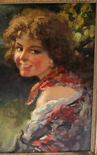 MAGNIFICENT ITALIAN O/C PAINTING BY GIOVANNI MADONINI LISTED ARTIST