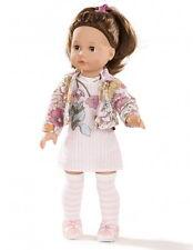 Götz Stehpuppe Puppe Elisabeth 46cm Haare und Schlafaugen braun Geschenk 1690389