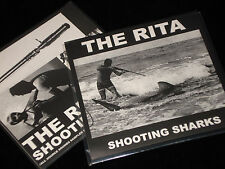 "THE RITA Shooting Sharks 7"" harsh noise wall HNW vomir cherry point macronympha"