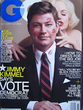 JIMMY KIMMEL  November 2008 GQ Mag  THE 25 SEXIEST WOMEN OF FILM OF ALL TIME