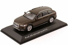 1:43 Audi A6 allroad quattro C7 2012 java-braun brown - Dealer-Edition - OEM