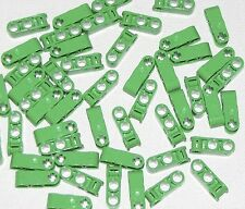 Lego Lot of 50 New Bright Green Technic Axle and Pin Connector Perpendicular 3L