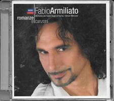 """FABIO ARMILIATO - RARO CD FUORI CATALOGO """" ROMANZE E CANZONI """""""